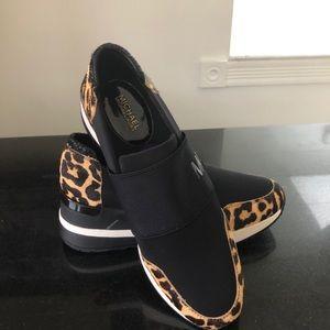 Michael Kors leopard sneakers